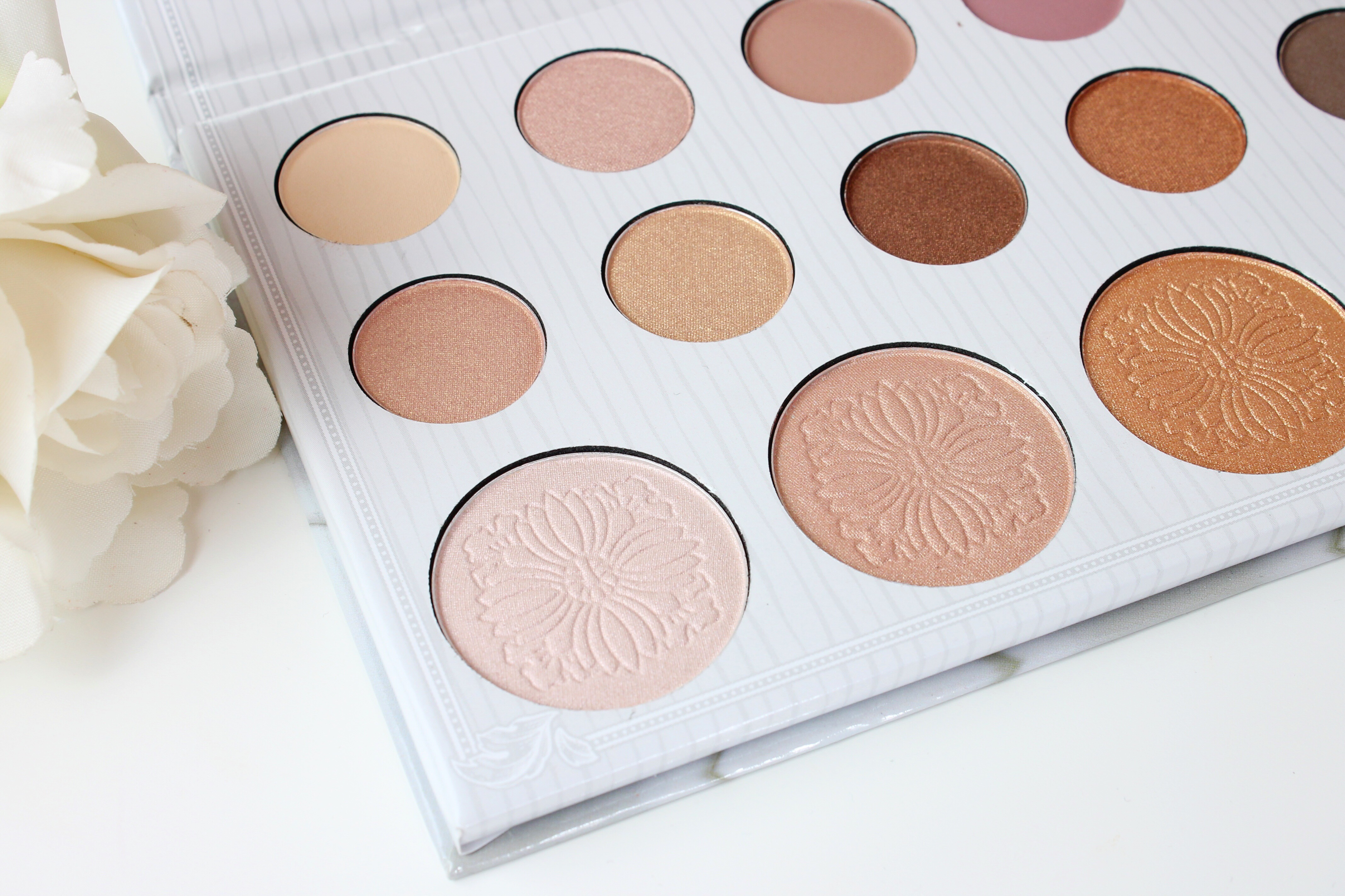 Carli Bybel Palette Swatches